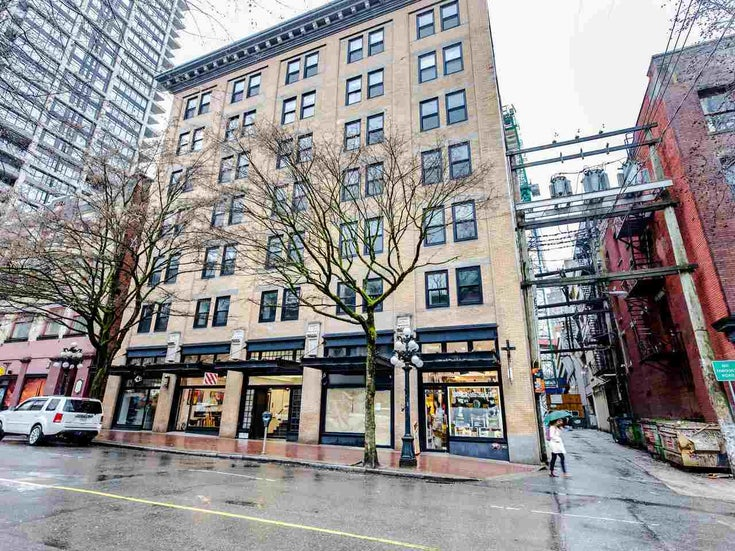 201 233 ABBOTT STREET - Downtown VW Apartment/Condo for sale, 1 Bedroom (R2441105)