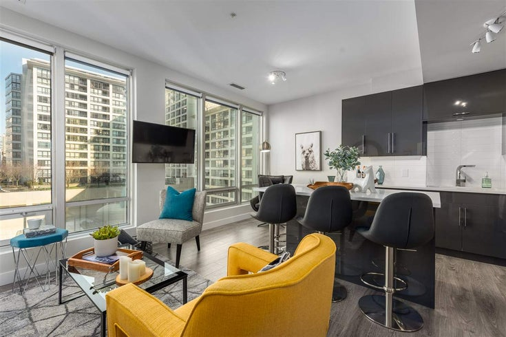 810 989 NELSON STREET - Downtown VW Apartment/Condo for sale, 1 Bedroom (R2446880)