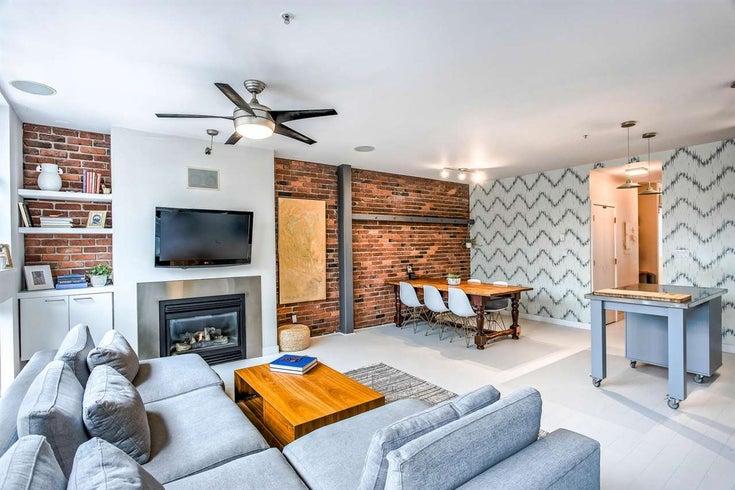 410 1072 HAMILTON STREET - Yaletown Apartment/Condo for sale, 2 Bedrooms (R2464449)
