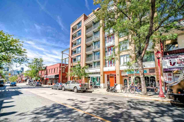 504 231 E PENDER STREET - Strathcona Apartment/Condo for sale(R2485628)