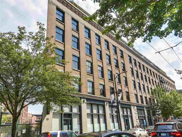 508 55 E CORDOVA - Downtown VE LOFTS for sale, 1 Bedroom (R2404492)