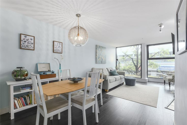207 2525 BLENHEIM STREET - Kitsilano Apartment/Condo for sale, 1 Bedroom (R2372443)