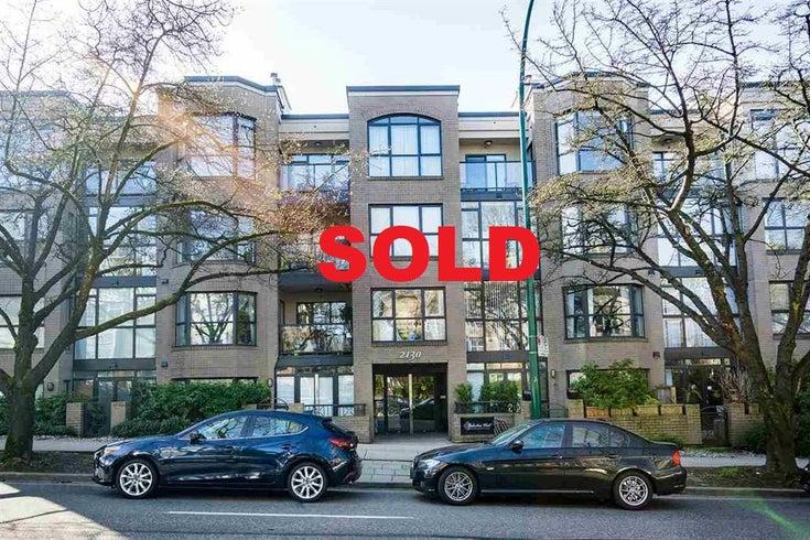 #402-2130 West 12th Avenue - Kitsilano Apartment/Condo for sale, 1 Bedroom (R2349932)