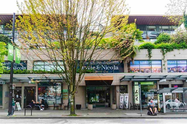 #304  1688 Robson Street Vancouver BC  - West End VW Apartment/Condo for sale, 1 Bedroom (R2580649)