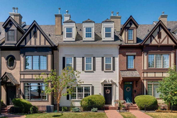 52 Scarpe Drive SW - Garrison Woods Row/Townhouse for sale, 4 Bedrooms (A1128350)