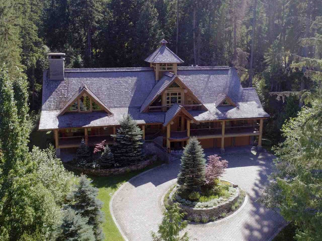 1351 ALTA LAKE ROAD - Whistler Creek House with Acreage for sale, 4 Bedrooms (R2483964)