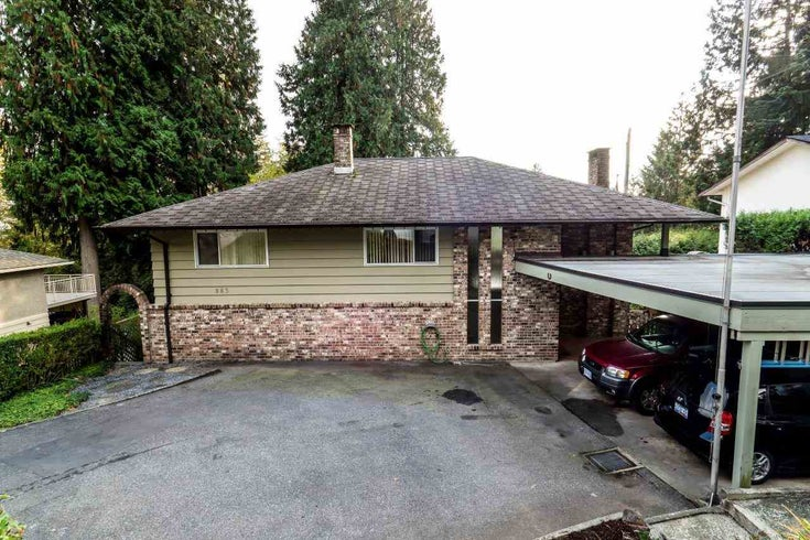 983 WELLINGTON DRIVE - Lynn Valley House/Single Family for sale, 4 Bedrooms (R2218988)
