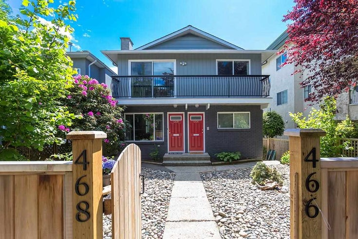 466-468 E 43RD AVENUE - South Vancouver House/Single Family for sale, 6 Bedrooms (R2583837)