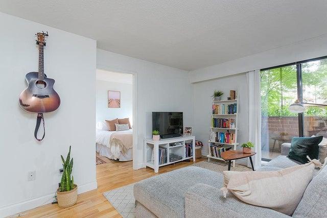 107 2255 W 5TH AVENUE - Kitsilano Apartment/Condo for sale, 1 Bedroom (R2591365)