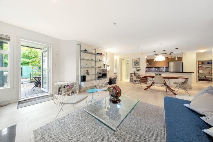 105 2161 W 12TH AVENUE - Kitsilano Apartment/Condo for sale, 3 Bedrooms (R2590728)