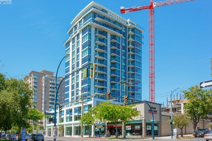 904 960 Yates St - Vi Downtown Condo Apartment for sale, 1 Bedroom (423508)