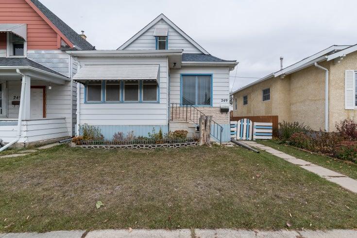 249 Washington Avenue - Winnipeg Single Family for sale, 3 Bedrooms (202026964)