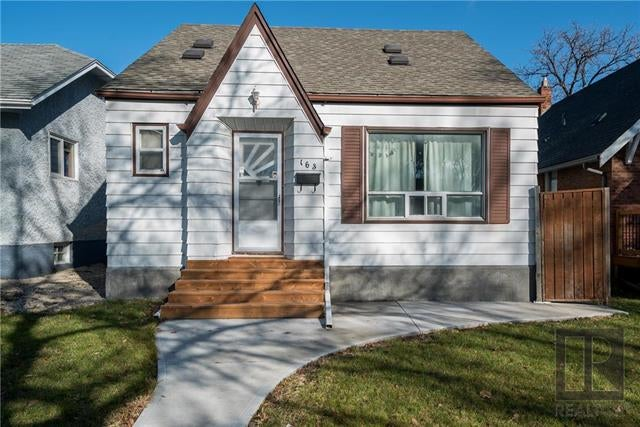 163 Smithfield Avenue - Winnipeg Single Family for sale, 2 Bedrooms (1829305)