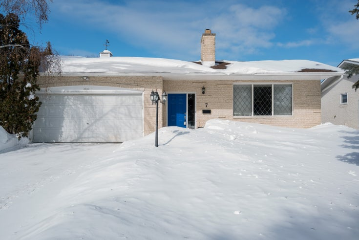 7 Homewood Drive - Winnipeg Single Family for sale, 4 Bedrooms (1906601)