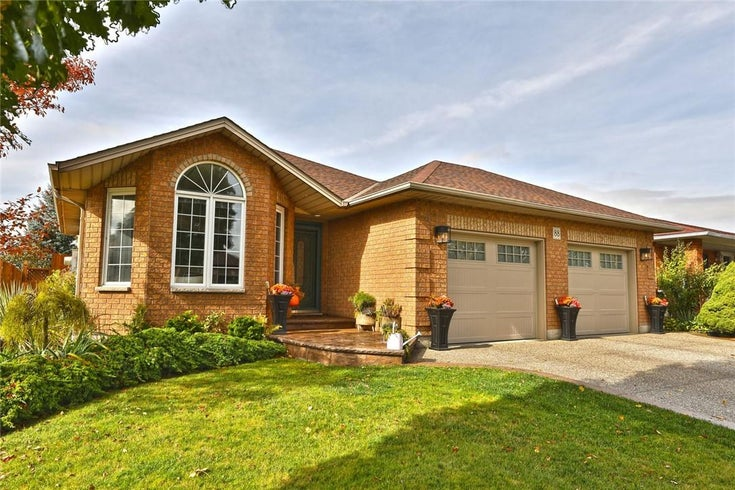 88 FOXMEADOW Drive - Stoney Creek House for sale, 4 Bedrooms (H4091412)