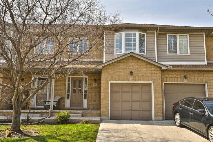 36 76 FRANCES Avenue - Stoney Creek Row / Townhouse for sale, 3 Bedrooms (H4103679)