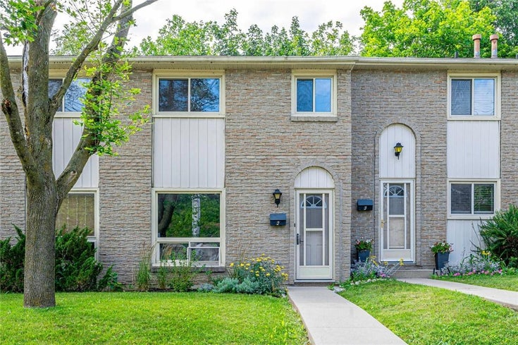 2 165 Green Valley Drive - Kitchener Row / Townhouse for sale, 3 Bedrooms (H4111894)