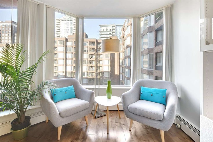 623 1333 HORNBY STREET - Downtown VW Apartment/Condo for sale(R2583045)