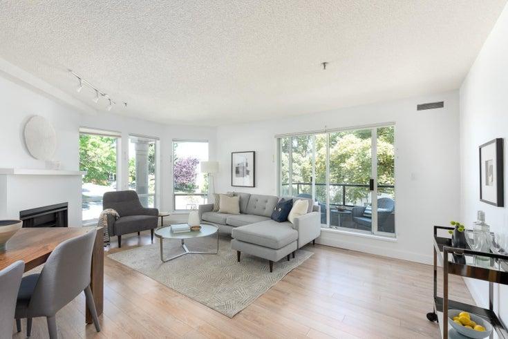 206 1988 MAPLE STREET - Kitsilano Apartment/Condo for sale, 1 Bedroom (R2597512)