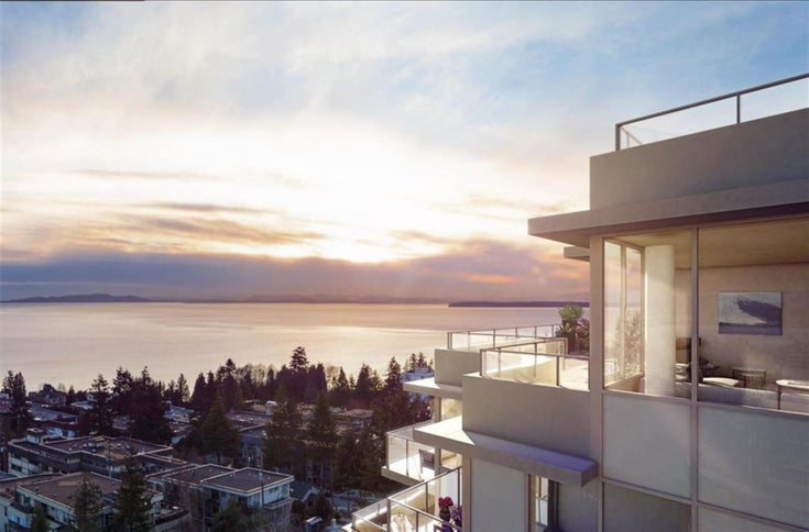 1602 - 15165 THRIFT AVENUE, White Rock, BC  - White Rock Apartment/Condo for sale, 3 Bedrooms