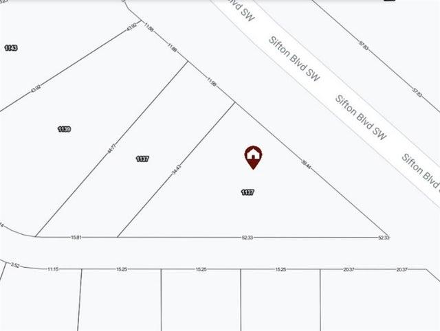 1137A Sifton Boulevard SW - Elbow Park Land for sale(A1062139)