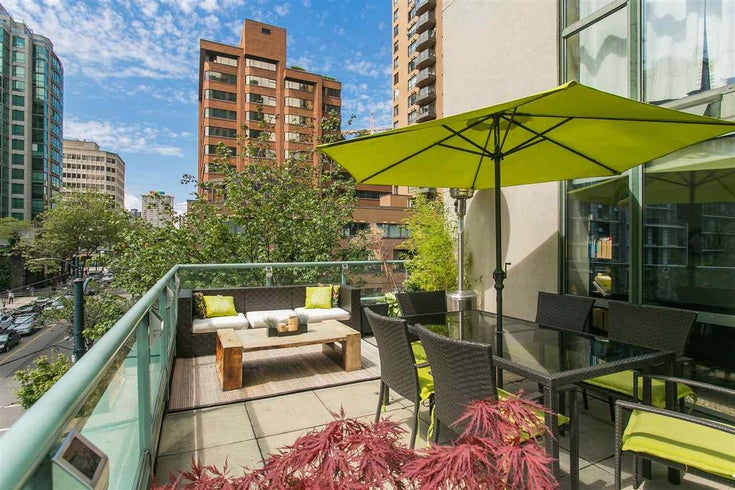302 1188 Howe Street - Downtown VW Apartment/Condo for sale, 1 Bedroom (R2093004)