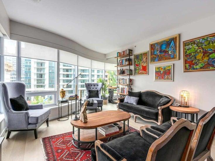 402 1661 Ontario Street - False Creek Apartment/Condo for sale, 2 Bedrooms (R2180655)