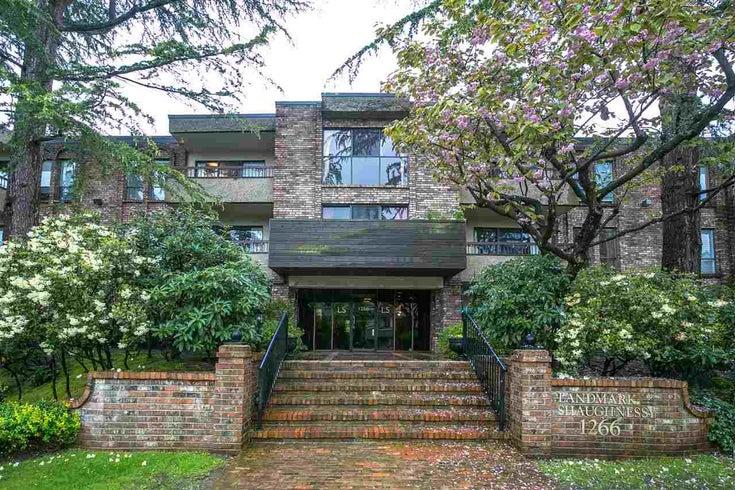 105 1266 W 13th Avenue - Fairview VW Apartment/Condo for sale, 1 Bedroom (R2162772)
