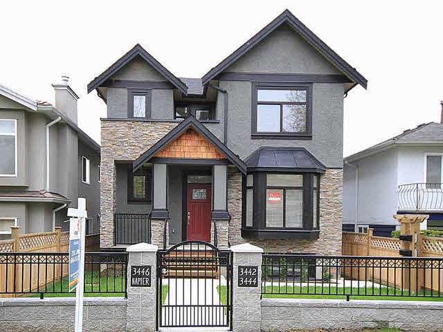 3446 Napier Street - Renfrew VE House/Single Family for sale, 4 Bedrooms (V1060665)