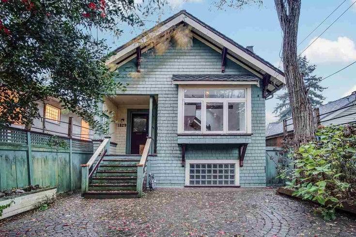 1829 STEPHENS STREET - Kitsilano House/Single Family for sale, 2 Bedrooms (R2518181)