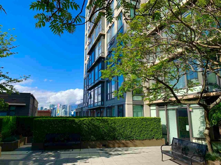 201 1068 W BROADWAY AVENUE - Fairview VW Apartment/Condo for sale, 1 Bedroom (R2584907)