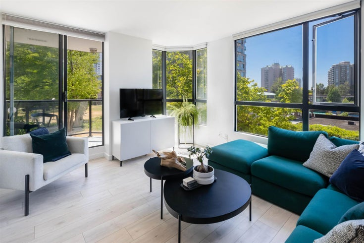 201 838 AGNES STREET - Downtown NW Apartment/Condo for sale, 1 Bedroom (R2601434)