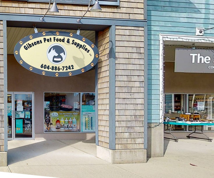 Gibsons Pet Food & Supply 107-1100 Sunshine Coast Highway, Gibsons BC V0N1V7 - Gibsons & Area COMM for sale(C8037210)