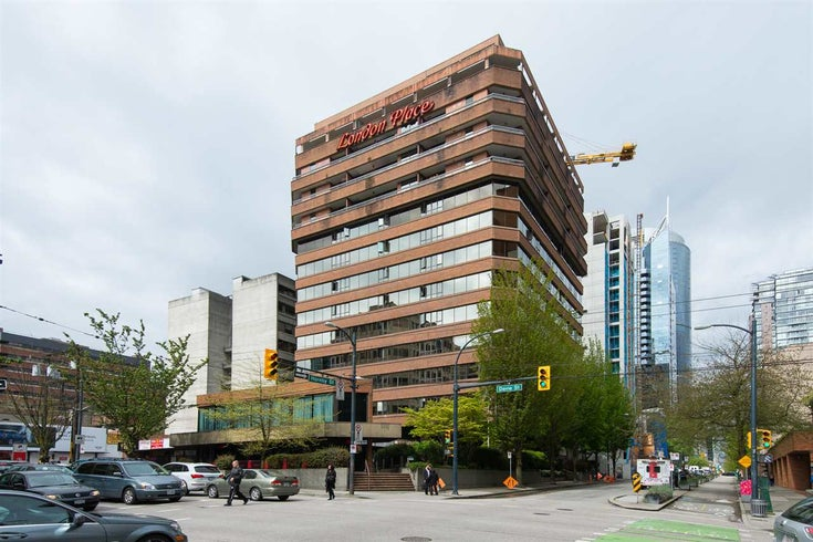 714 1177 HORNBY STREET - Downtown VW Apartment/Condo for sale, 1 Bedroom (R2164054)