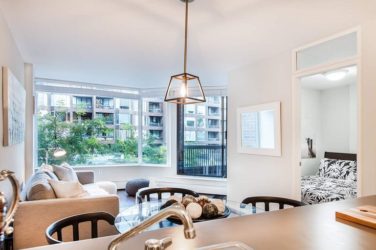 318 1330 BURRARD STREET - Downtown VW Apartment/Condo for sale, 1 Bedroom (R2209947)