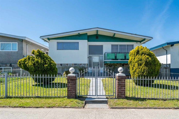 5949 KNIGHT STREET - Knight House/Single Family for sale, 5 Bedrooms (R2262553)