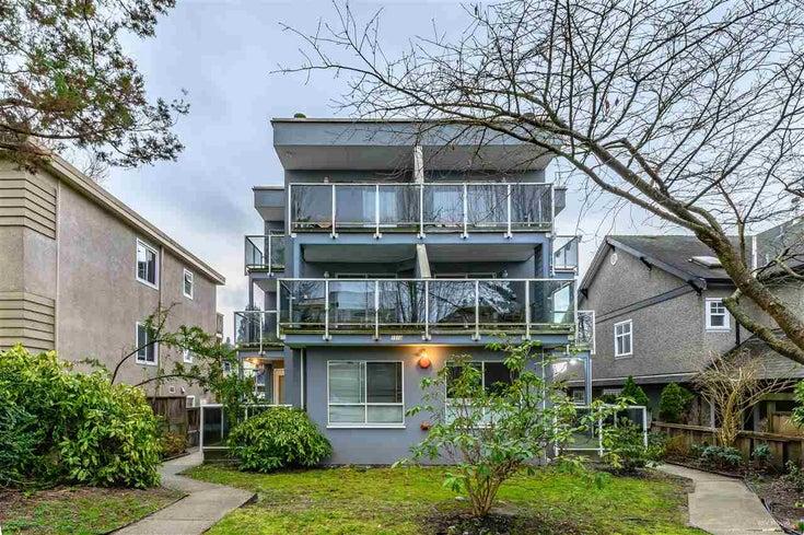 4 1510 E 3RD AVENUE - Grandview Woodland Apartment/Condo for sale, 3 Bedrooms (R2453637)
