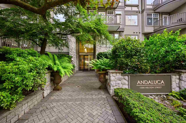 208 1388 NELSON STREET - West End VW Apartment/Condo for sale, 2 Bedrooms (R2471591)