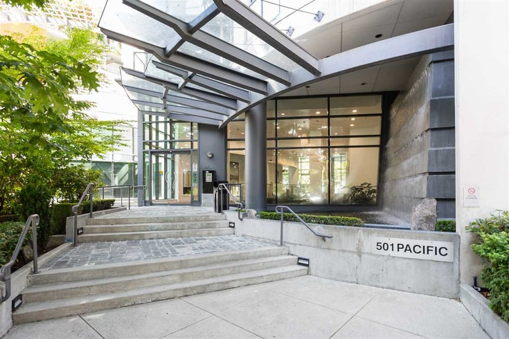 1004 501 PACIFIC STREET - Downtown VW Apartment/Condo for sale, 1 Bedroom (R2481781)