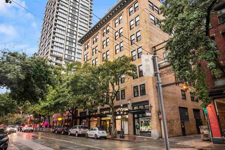 601 233 ABBOTT STREET - Downtown VW Apartment/Condo for sale, 1 Bedroom (R2507918)