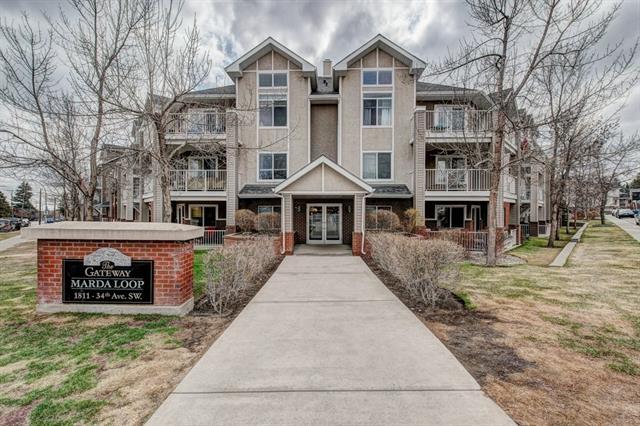 #313 1811 34 AV SW - Altadore Apartment for sale, 2 Bedrooms (C4196498)