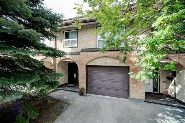 #21 1011 CANTERBURY DR SW - Canyon Meadows Row/Townhouse for sale, 2 Bedrooms (C4268430)