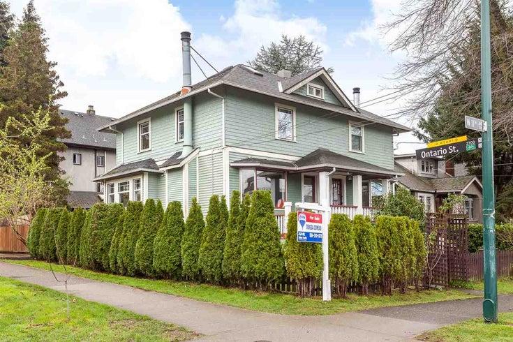 4 W 11TH AVENUE - Mount Pleasant VW 1/2 Duplex for sale, 4 Bedrooms (R2045663)