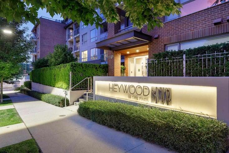 303 1621 HAMILTON AVENUE - Mosquito Creek Apartment/Condo for sale, 2 Bedrooms (R2593125)