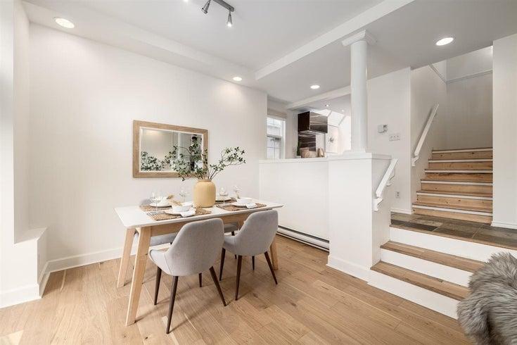 3575 W 6TH AVENUE - Kitsilano 1/2 Duplex for sale, 3 Bedrooms (R2590182)