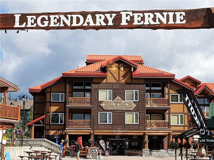 #302 5343 Fernie Ski Hill Road - Fernie Apartment for sale, 1 Bedroom (2434837)