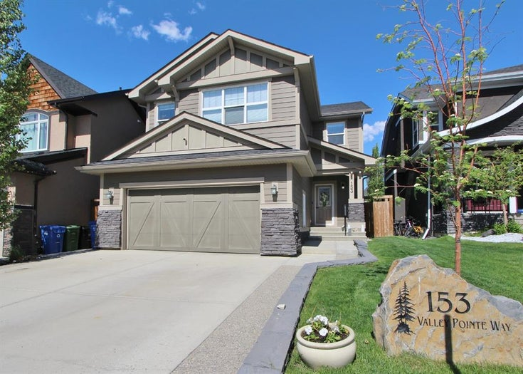 153 VALLEY POINTE Way NW - Valley Ridge Detached for sale, 5 Bedrooms (A1107351)