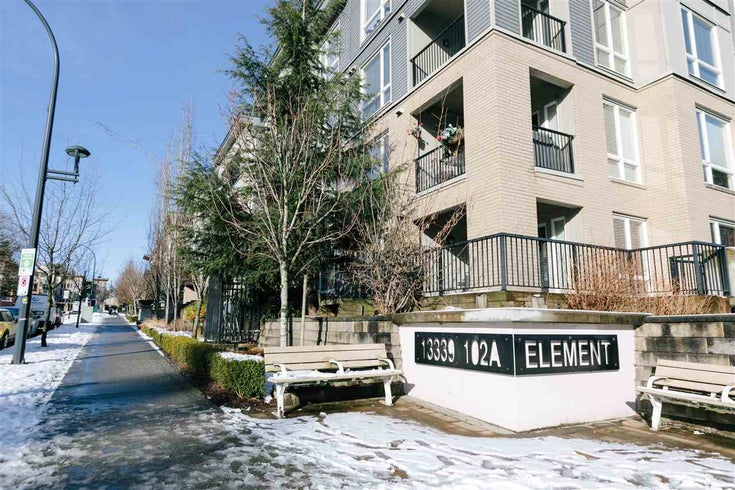 403 13339 102A AVENUE - Whalley Apartment/Condo for sale, 1 Bedroom (R2342440)
