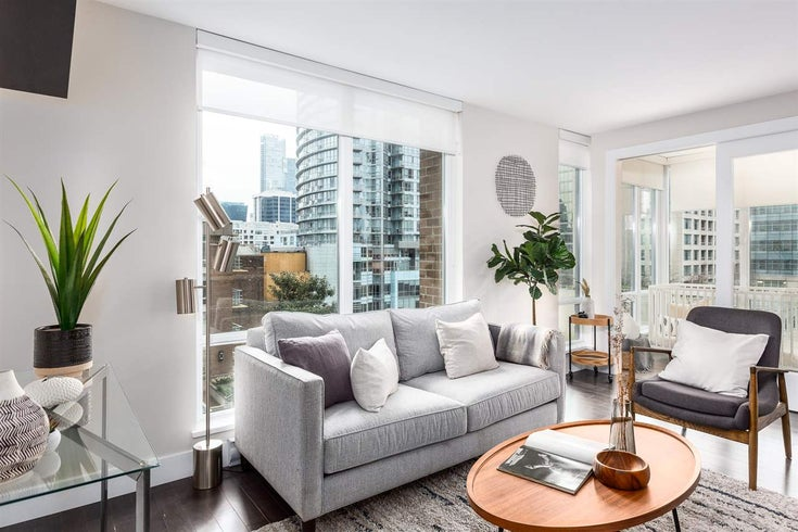 802 535 SMITHE STREET - Downtown VW Apartment/Condo for sale, 1 Bedroom (R2439921)