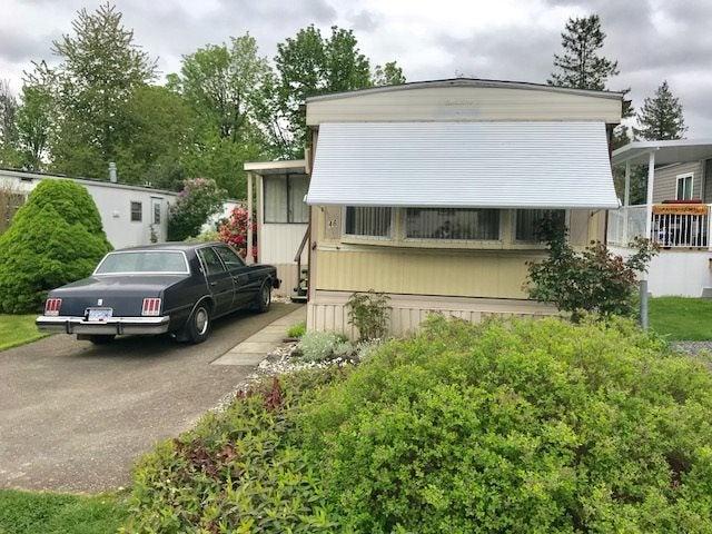 46 6035 VEDDER ROAD - Sardis West Vedder Rd Manufactured for sale, 2 Bedrooms (R2265013)